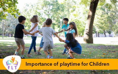 Importance of playtime for Children