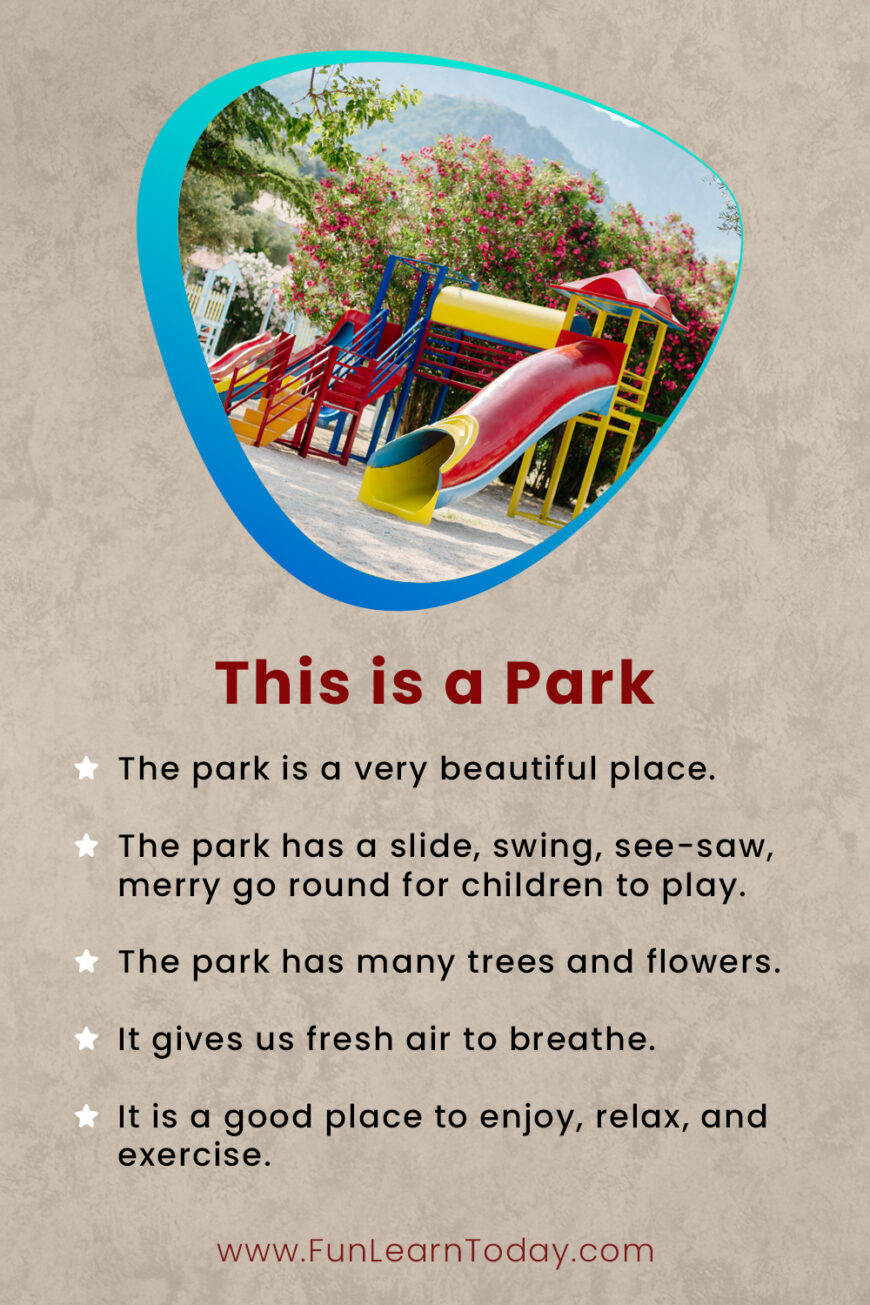 This is a park