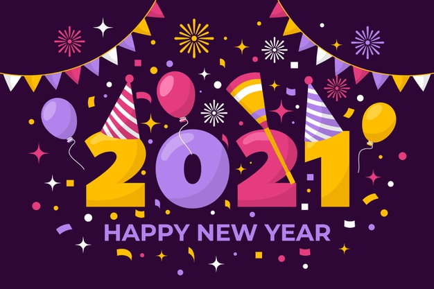 Free New Year 2021 Greetings