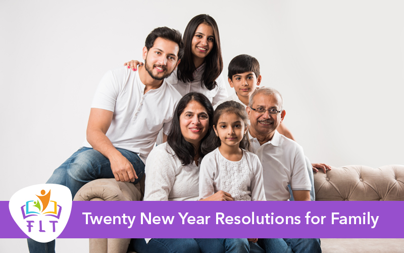Twenty New Year Resolutions for Family