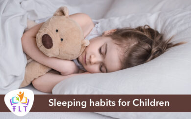 How to regulate the Sleeping habits for Children?