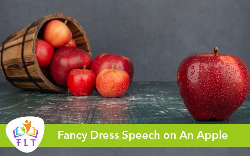 Fancy Dress Speech on An Apple