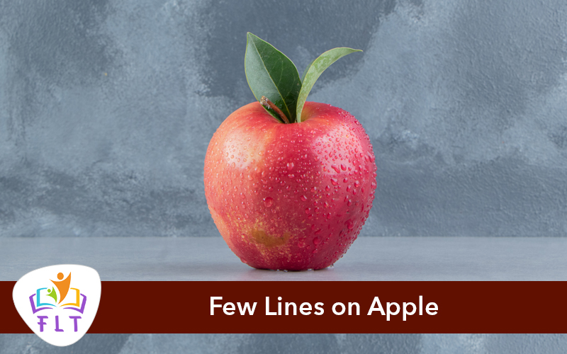 Few Lines on Apple