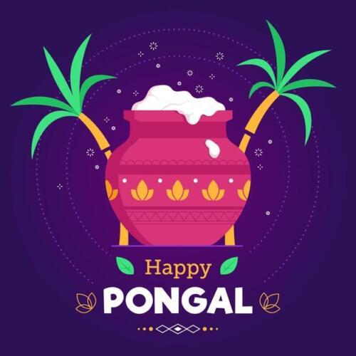 Free Pongal Greetings - Pongal Greeting Card